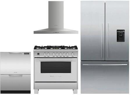 Fisher Paykel  1147315 Kitchen Appliance Package Stainless Steel, Main image