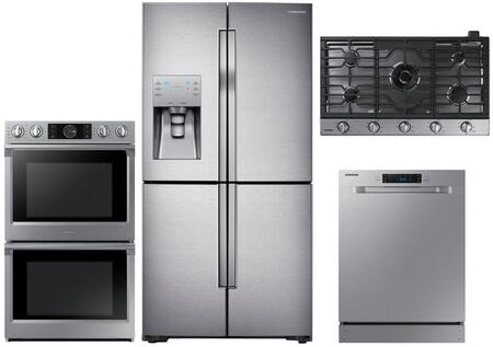 Samsung  1011253 Kitchen Appliance Package Stainless Steel, main image