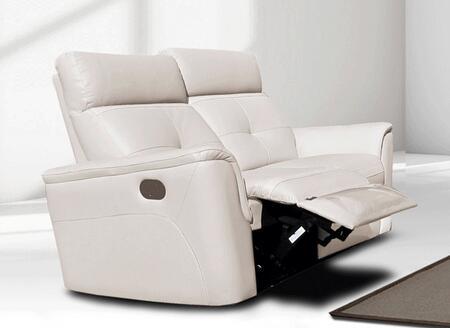 ESF 85012W Loveseat White, 85012W