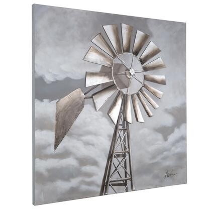 Original Painting Collection DCF268 Tornado Alley 48″ x 48″ Acrylic Painting in Multi