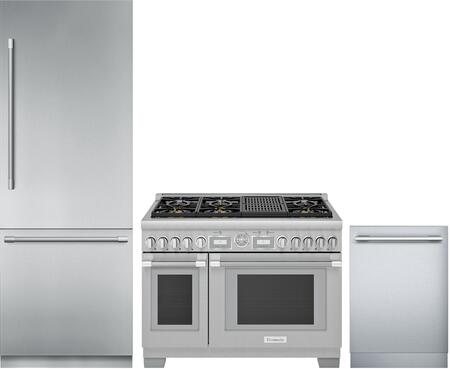 Thermador  1311282 Kitchen Appliance Package Stainless Steel, Main image