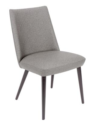 Florida Seating  CNFPSSSL Dining Room Chair Silver, cn fps s silver