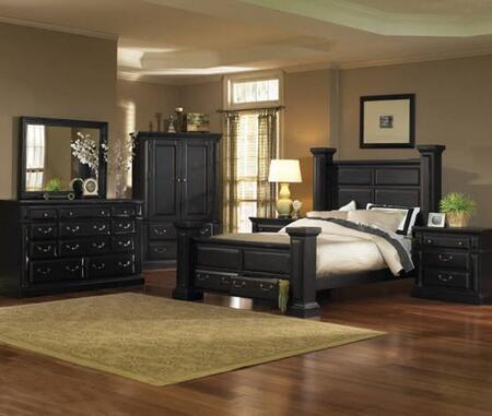 Progressive Furniture Torreon 5 Piece King Size Bedroom Set