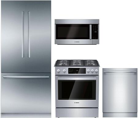 Bosch Benchmark 1125220 Kitchen Appliance Package & Bundle Stainless Steel, main image
