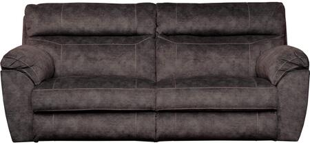 Sedona Collection 62221 2793-28 91″ Lay Flat Power Reclining Sofa with Power Headrest Smoke