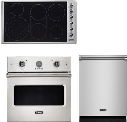 Viking  943497 Kitchen Appliance Package Stainless Steel, main image