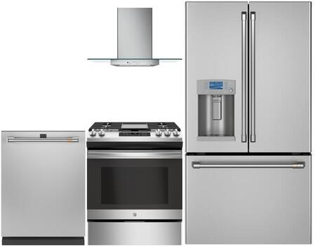 Cafe  1066294 Kitchen Appliance Package Stainless Steel, Main image