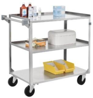 SSC1524 Utility Cart 15X24X33  In Stainless