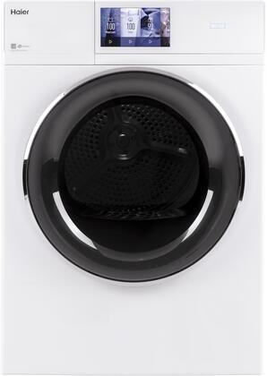 QFD15ESSNWW 24″ Frontload Electric Dryer with 4.1 cu. ft. Capacity  Stainless Steel Basket  Auto-Sensing Moisture Sensor  Reversible Doors