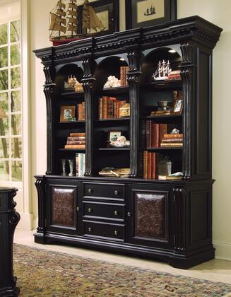 Hooker Furniture Telluride 37010267265 Bookcase Black, Main Image