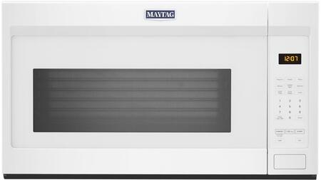 Maytag MMV1175JW 30 Over-the-Range Microwave with 1.9 cu. ft. Capacity  1000 Watts  300 CFM and Mesh Filter in