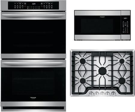 Frigidaire 1107794 Kitchen Appliance Package & Bundle Stainless Steel, Main Image