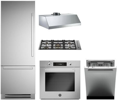 Bertazzoni 1054969 Kitchen Appliance Package & Bundle Stainless Steel, main image