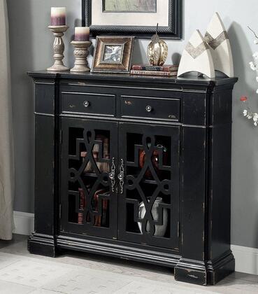 Furniture of America Hosmer CMAC515 Cabinet Black, Main Image