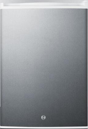 Summit  FF31L7BICSS Compact Refrigerator Stainless Steel, Main Image