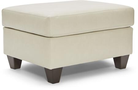 2024-09 SOFT TOUCH CREAM 34″ Ottoman with Leather Upholstery in