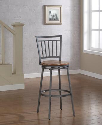 American Woodcrafters Filmore B110125W Bar Stool Brown, B1 101 Primary
