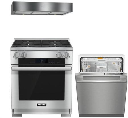 Miele 888250 Kitchen Appliance Package & Bundle Stainless Steel, main image