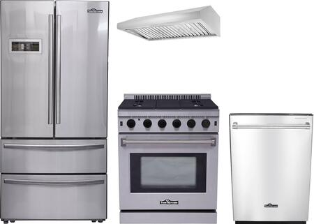 Thor Kitchen 887978 Kitchen Appliance Package & Bundle Stainless Steel, 1
