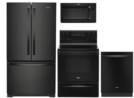 Whirlpool 1125688 Kitchen Appliance Package & Bundle Black, main image