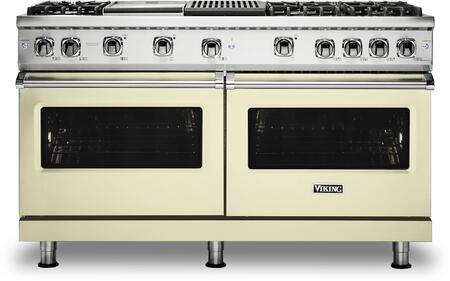 Viking 5 Series VGR5606GQVC Freestanding Gas Range Bisque, VGR5606GQVC Gas Range