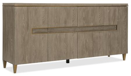 Hooker Furniture Pacifica 607575907LTWD Dining Room Buffet, Silo Image