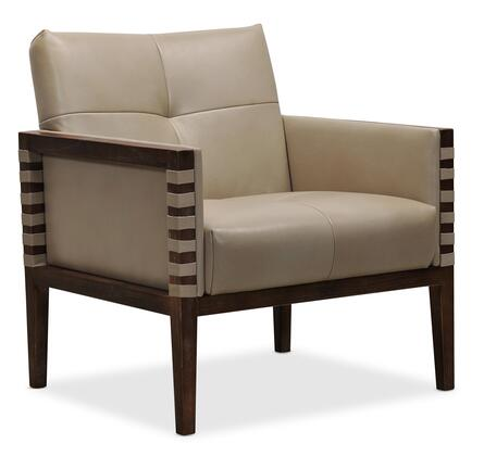 Hooker Furniture CC Series CC401082 Accent Chair Beige, Silo Image