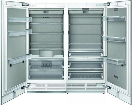 Thermador  1383893 Column Refrigerator & Freezer Set Panel Ready, 1