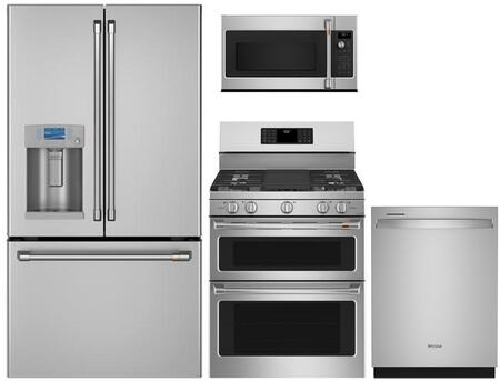 Cafe  1067137 Kitchen Appliance Package Stainless Steel, main image