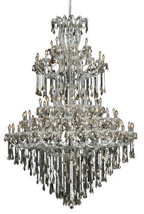 Elegant Lighting 2801G96CGTSS Chandelier, Image 1