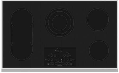 Hestan  KEC36BK Electric Cooktop Black, Main Image