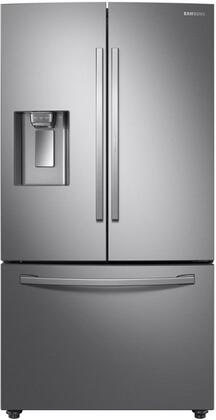 Samsung  RF28R6301SR French Door Refrigerator Stainless Steel, RF28R6301SR Front View