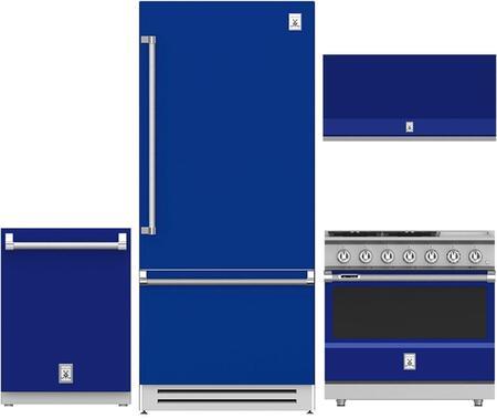 Hestan  963981 Kitchen Appliance Package Blue, 1