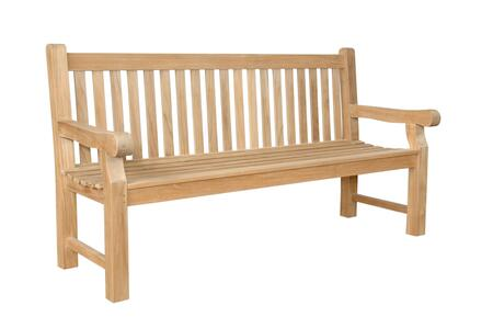 Anderson Devonshire BH706S Patio Bench Brown, Main