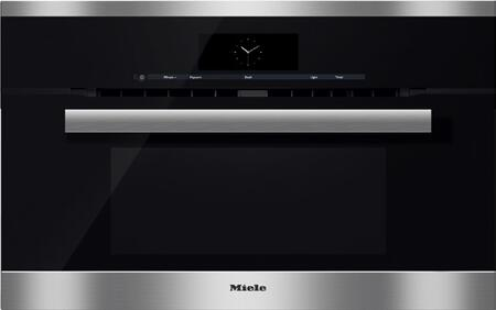 Miele M Touch H6870BM Single Wall Oven Stainless Steel, Main Image