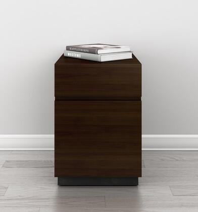 Furnitech Signature Home Collection FT16PDW File Cabinet Brown, main image