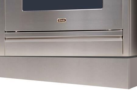 Ilve APZ120140I Toe Kick, Stainless Steel toe Kick