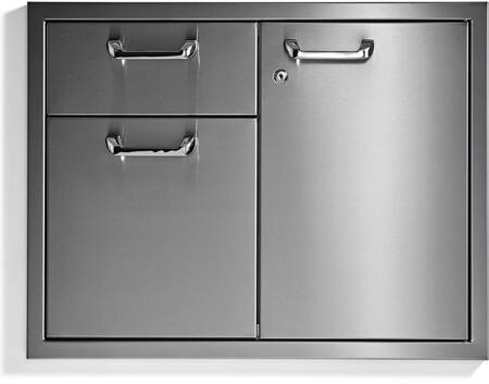 Lynx  LSA30 Storage Drawer Stainless Steel, LSA30 Front View