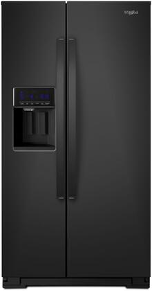 Whirlpool  WRS588FIHB Side-By-Side Refrigerator Black, Main Image