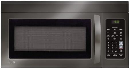 LG  LMV1831BD Over The Range Microwave Black Stainless Steel, Main Image