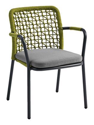Florida Seating Banyan Tree BANYANAGN Patio Chair Green, banyantree dining armchair