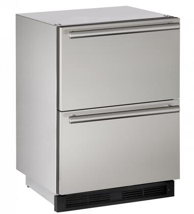U-Line Outdoor U1224DWRSOD00A Drawer Refrigerator Stainless Steel, Main Image