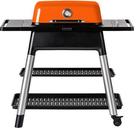 HBG2OUS 47″ FORCE Liquid Propane Grill with 2 Burners  22000 BTU  and Die-Cast Aluminum Body in