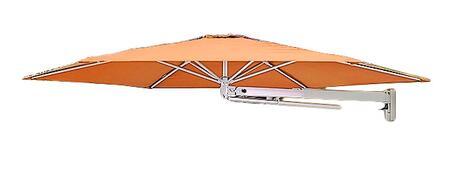 Shadowspec SU7 Series KITP7SQ30PBORNA Outdoor Umbrella Orange, Bitter Orange