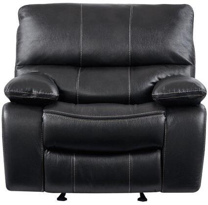 Global Furniture USA U0040 U0040GR Recliner Chair Gray, Main Image