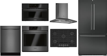 Bosch 980948 Kitchen Appliance Package & Bundle Black Stainless Steel, main image