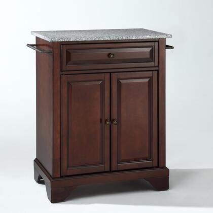Crosley Furniture Lafayette KF30023BMA Kitchen Island Brown, KF30023BMA W1