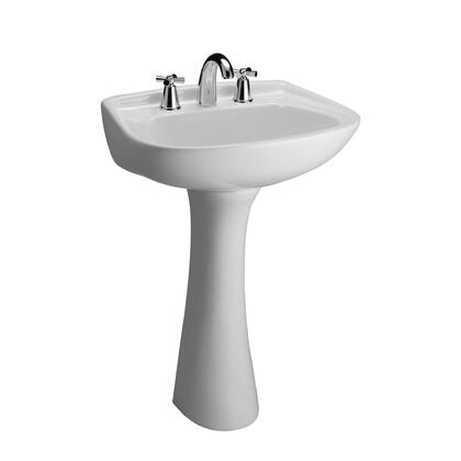 Barclay Hartford 3318WH Sink White, Faucet Not Included