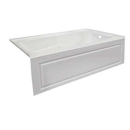 Valley Acrylic Signature Collection STARK7230SKRWHT Bath Tub White, Main Image
