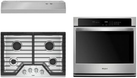 Whirlpool  1135513 Kitchen Appliance Package Stainless Steel, Main image